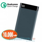 Power Bank Fast Charge Qualcomm 3.0 - Μπαταρία 10000mAh για Γρήγορη Φόρτιση με Θύρα USB & Type C OEM