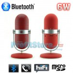 Retro Microphone Style Bluetooth Multimedia Speaker, MP3 Player, Hands Free Kit