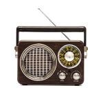 Retro Φορητό Επαναφορτιζόμενο Ραδιόφωνο Meier® - Multimedia Ηχείο MP3 Player με Bluetooth, USB, SD, AUX, FM Radio CMIK MK-612