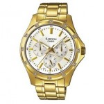Ρολόι CASIO SHEEN Crystal Ladies Gold Stainless Steel SHE-3801GD-7AEF