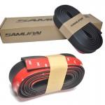 Samurai Universal Bumber Spoiler Rubber Skirt Black 250cm - Σπόϊλερ Αυτοκινήτου