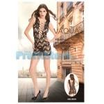 Sexy Mini Φόρεμα με Διάτρητα Σχέδια 8970 - Sexy Lingerie Bodystockings