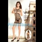 Sexy Μίνι Φόρεμα από Λωρίδες Υφάσματος 8992 - Sexy Lingerie Bodystockings