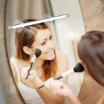 Slim Φωτιστικό Μπάρα LED για Καθρέπτη Μακιγιάζ Τουαλέτας με Βεντούζες & Ρυθμιζόμενο Φωτισμό - Beauty Bright Makeup
