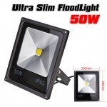 Slim Προβολέας LED 50/500W - Αδιάβροχος IP65 Υψηλής Απόδοσης - 80% οικονομία