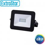 Extra Slim Προβολέας LED 10W Θερμό Λευκό - Αδιάβροχος IP65 Υψηλής Απόδοσης - 80% οικονομία ExtraStar 90331