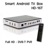 Smart Android Tv Box DVB-T Tuner PVR, Full HD, HDMI HD-16T
