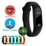 Smart Band Ρολόι Bluetooth M2 Smartwatch με Καταγραφή Βημάτων, Ύπνου & Καρδιακών Παλμών