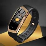 Smart Band Αδιάβροχο Ρολόι Bluetooth Smartwatch WearHealth με Καταγραφή Βημάτων, Ύπνου, Καρδιακών Παλμών, Πιεσόμετρο & Αθλητικές Δραστηριότητες