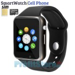 Smart Watch Αφής Κινητό A-Watch Τηλέφωνο Bluetooth & Handsfree με Ελληνικό Μενού, Ίντερνετ, Κάμερα, Facebook, Twitter, Βηματομετρητή, Ποιότητα Ύπνου