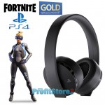 Ασύρματα Ακουστικά Sony Gold & Fortnite Neo Versa VCH Bundle με 2 x Mic - 7.1 Gaming Headset - Wireless Headphones Κεφαλής