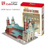 "3D Puzzle CubicFun ""Speyer Cathedral"" με 72 Κομμάτια"