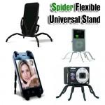 Spider Flexible Universal Stand για Κινητά Τηλέφωνα, iPhone, Cameras