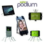 Spiderpodium Flexible Universal Stand για Κινητά Τηλέφωνα, iPhone, Cameras