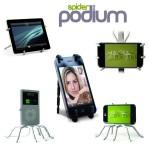Spiderpodium Flexible Universal Stand για Κινητά Τηλέφωνα, iPhone, Cameras