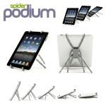 Spiderpodium Flexible Universal Stand για Tablets, iPad, Cameras