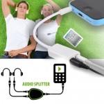 Splitter Ακουστικών - Συνδέει 2 Σετ Ακουστικών σε μία Συσκευή