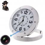 Spy Επιτραπέζιο Ρολόι με Κρυφή Κάμερα HD 720p & με Ανίχνευση Ηχου - Spy Clock Cam