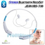 Stereo Bluetooth Ηandsfree NECKSET JEAN HBS-740 Vitality