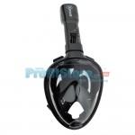 Sub Full Face Snorkel Mask Xifias 857 BLACK - Ολοπρόσωπη Μάσκα με Αναπνευστήρα και Βάση για Action Camera