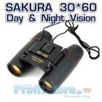 Super Compact Κιάλια Near Focus Sakura 30*60 Day & Night Vision