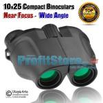 Compact Κιάλια Near Focus Wide Angle Helios 10x25 Υψηλής Φωτεινότητας