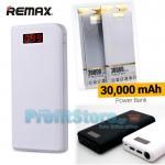 Super Giant Power Bank 30.000mAh 2,1A - Μπαταρία Φορτιστής Υψηλής Ισχύος REMAX 3000