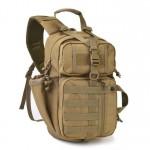 Super Heavy Duty Σακίδιο Πλάτης - Χιαστί Αντικλεπτική Τσάντα για Κάμπινγκ & Ταξίδια 35L - Anti-theft System Backpack Χακί OEM