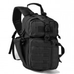 Super Heavy Duty Σακίδιο Πλάτης - Χιαστί Αντικλεπτική Τσάντα για Κάμπινγκ & Ταξίδια 35L - Anti-theft System Backpack Μαύρο