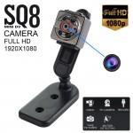 Super Mini DV Full HD 1080p Κάμερα  Καταγραφικό 12MP με Ανίχνευση Κίνησης SQ8 SpyCam