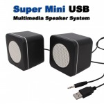 Super Mini USB Multimedia Speaker System 3W x2 - Σετ Ηχείων Υπολογιστή
