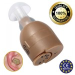 Super Mini Ακουστικά Ενίσχυσης Ακοής & Βοήθημα Βαρηκοίας Axon F883