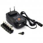 Switching Πολυ - Τροφοδοτικό Αντάπτορας Φόρτισης Wall Plug-In Adapter 30W / 2.1A & USB Universal για όλες τις Συσκευές