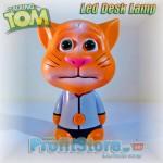 Talking Tom - Επαναφορτιζόμενο Παιδικό Φωτιστικό Γραφείου