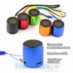 Tiny MP3 Player - Fm Radio TrueBass Speaker