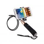 USB OTG Ενδοσκοπική Αδιάβροχη Κάμερα Μικροσκόπιο με Βάση & Φωτισμό LED για Android Κινητά