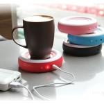 USB Cup Warmer για να Διατηρείτε Ζεστό τον Καφέ Σας