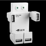 USB Hub 4 Θυρών σε Σχήμα Ρομπότ