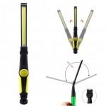 USB Επαναφορτιζόμενος Φακός με Περιστρεφόμενη Μαγνητική Βάση 360ᵒ & Ροοστάτη Φωτεινότητας - Rechargeable COB LED Work Light Eyeshield