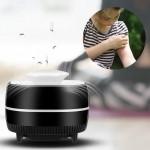 UV LED Εξολοθρευτής Κουνουπιών και Εντόμων με Αναρρόφηση  - USB Mini Mosquito Killer Lamp