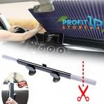 Universal Συρόμενο Σκίαστρο που Κόβεται - Ηλιακή Προστασία Παρμπρίζ Αυτοκινήτου (Κουρτίνα)
