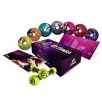 ZUMBA Fitness Σετ - DVD για Χορό & Γυμναστική με 7 DVD & 2 Βαράκια