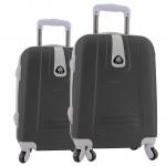 Σετ 2 Βαλίτσες Καμπίνας ABS με Τηλεσκοπικό Χερούλι, Ροδάκια & Κλείδωμα Ασφαλείας