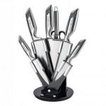 Σετ 5 Μαχαιριών Κουζίνας από Χυτό Ατσάλι με Μπαλτά & Ψαλίδι Royalty Line RL KSS808