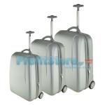 Σετ 3 Βαλίτσες Ταξιδιού ABS με Τηλεσκοπικό Χερούλι, Ροδάκια & Λουκέτο Ασφαλείας Holy 4902