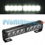 Προβολέας Φώτα LED Ασφαλείας, Αστυνομίας Περιπολικού Φάρος Έκτακτης Ανάγκης Αυτοκινήτου 8W