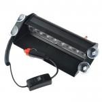 Φώτα LED Περιπολικού Αστυνομίας - Ασφαλείας με 8x LED 12V για Παρμπρίζ Αυτοκινήτου ΗΒ80