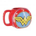 Κούπα 3D Γουόντεργουμαν DC Superhero - 3D Wonder Woman Mug Καφέ, Ζεστού Ροφήματος