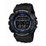 Ρολόι CASIO G-Shock Digital Black Rubber Strap GLS-100-1ER