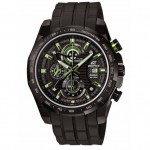 Ρολόι CASIO Edifice Chronograph Black Rubber Strap EFR-523PB-1AVEF